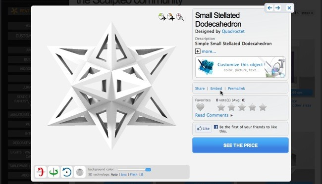 Embed Your 3d Models In Website With Sculpteo 39 S Viewer