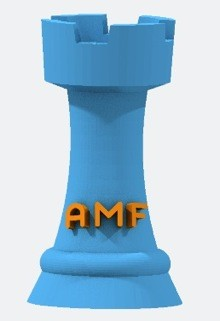 3D Rook in AMF format