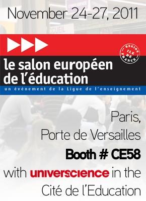 3d printing meet sculpteo team next week in paris for Salon europeen de l education porte de versailles