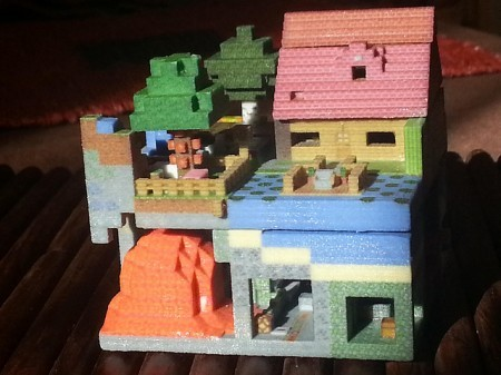 3d printing minecraft 3d printed model Minecraft 3d model maker