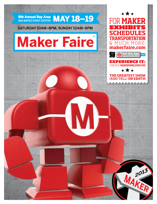 Maker Faire world tour: Californian week for Sculpteo!
