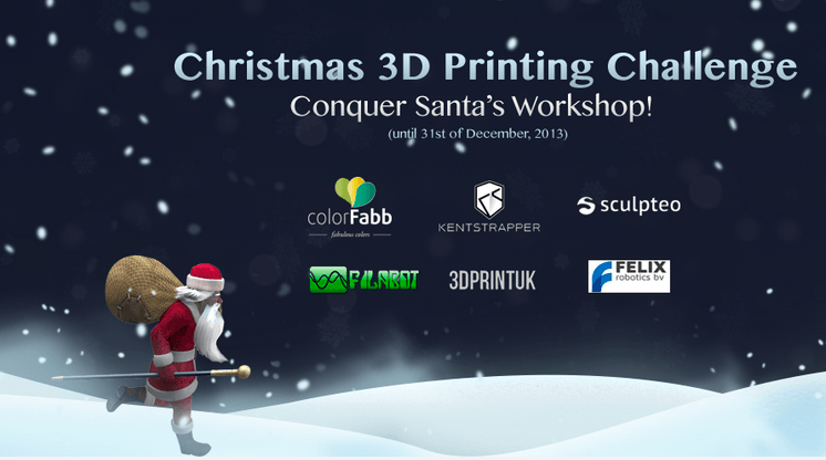 3D Printing Christmas Challenge with CGTrader