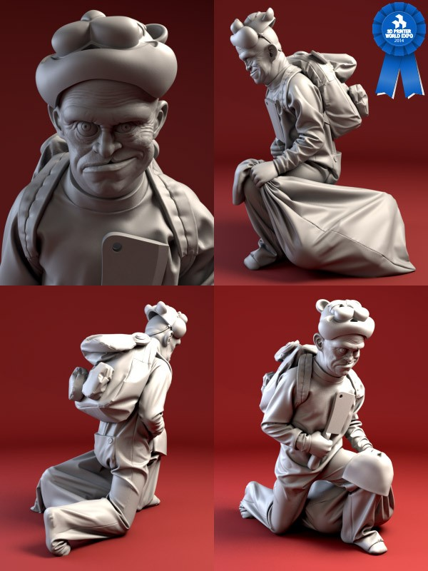 And the winners of the 3DPW Expo Character Art Contest are...