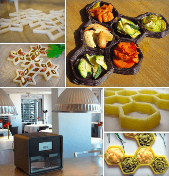 The Foodini, A 3D Printer For Food On Kickstarter