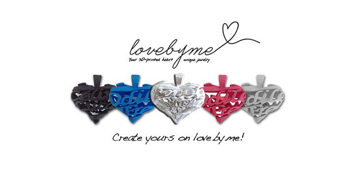 Love.by.me let's you create unique jewelry - Sculpteo Blog