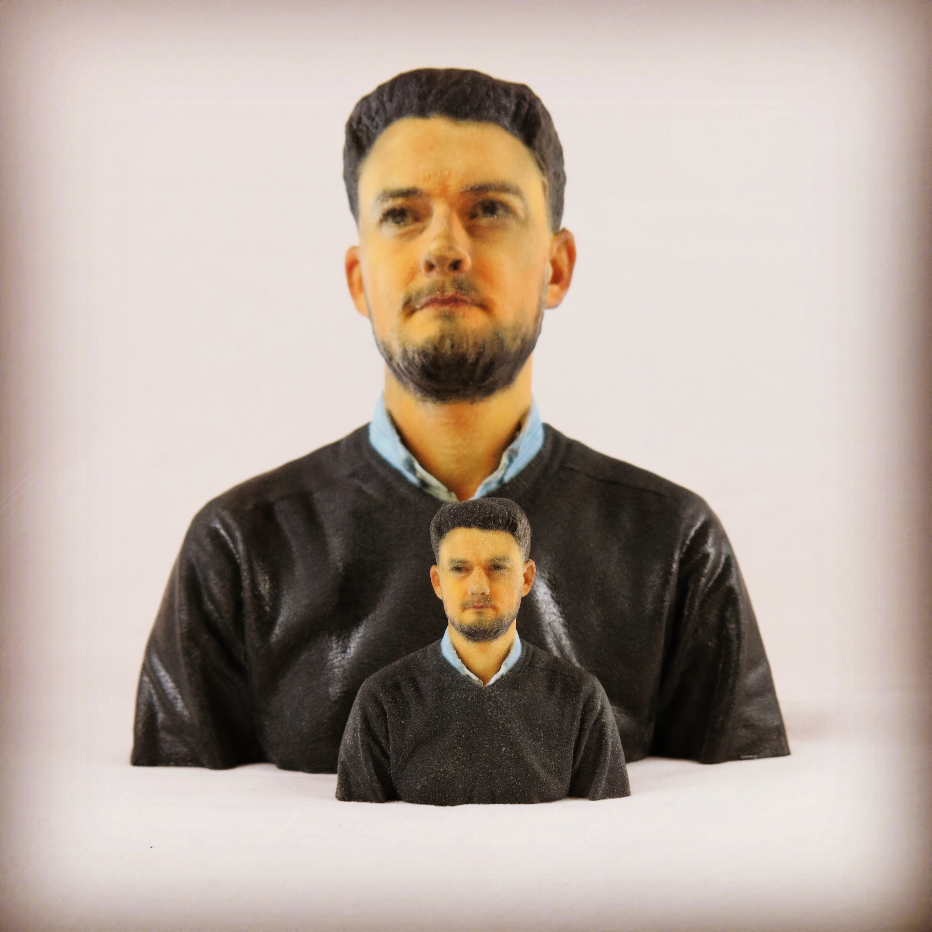 Get your hands on your 3D printed HD selfie!