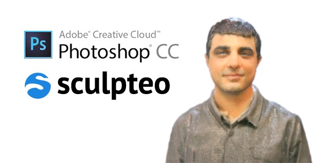 3D Print Directly from Photoshop CC: Sculpteo now Integrated