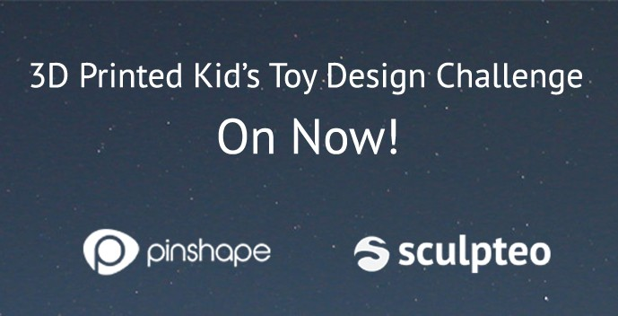 Limited Time remaining for Pinshape's Toy Challenge!
