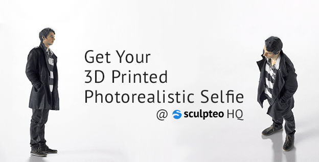 Get your own 3D printed selfie now