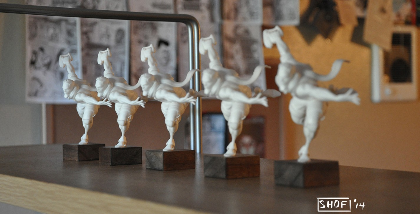 Outcasts of Jupiter and their 3D printed figurines