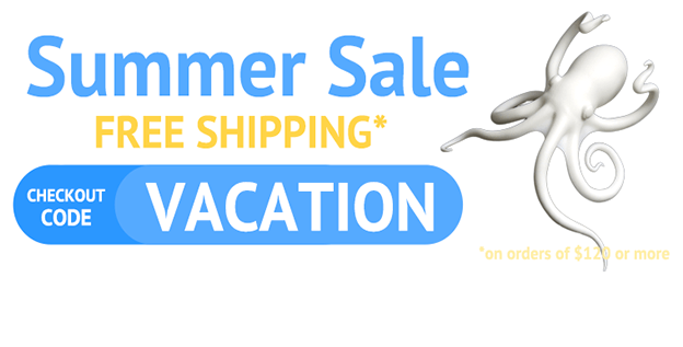 Hot deal! Save money on your shipping cost for summer