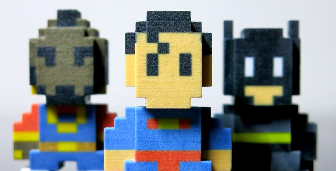 Pixel Art comes to life with Sculpteo