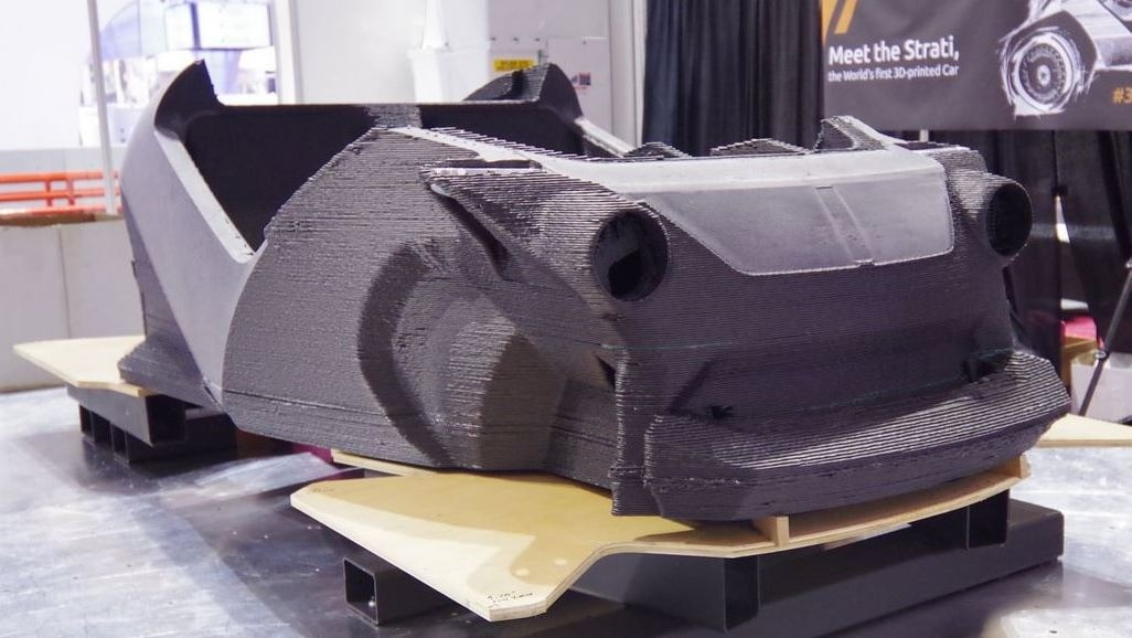 Strati 3D Printed car