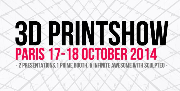 Visit Us at the 3D Printshow Paris