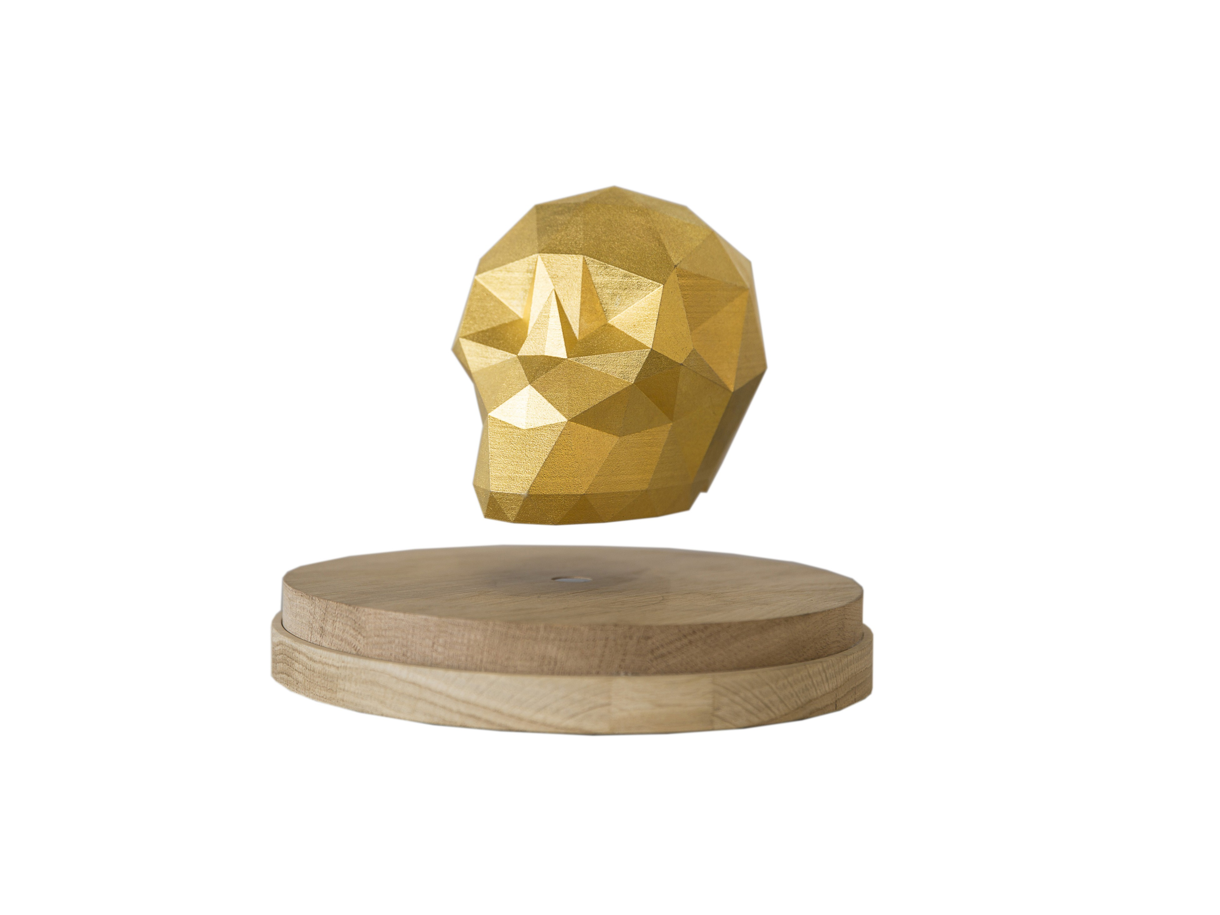 Ankou levitating skull