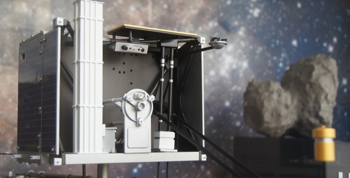 Using 3D printing to land a spacecraft on a comet