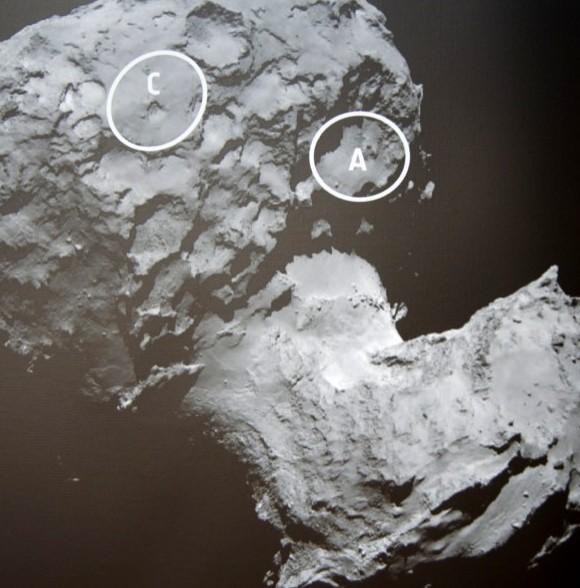CNES 3D Print Comet 4
