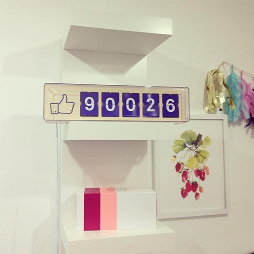 Fliike Facebook Counter
