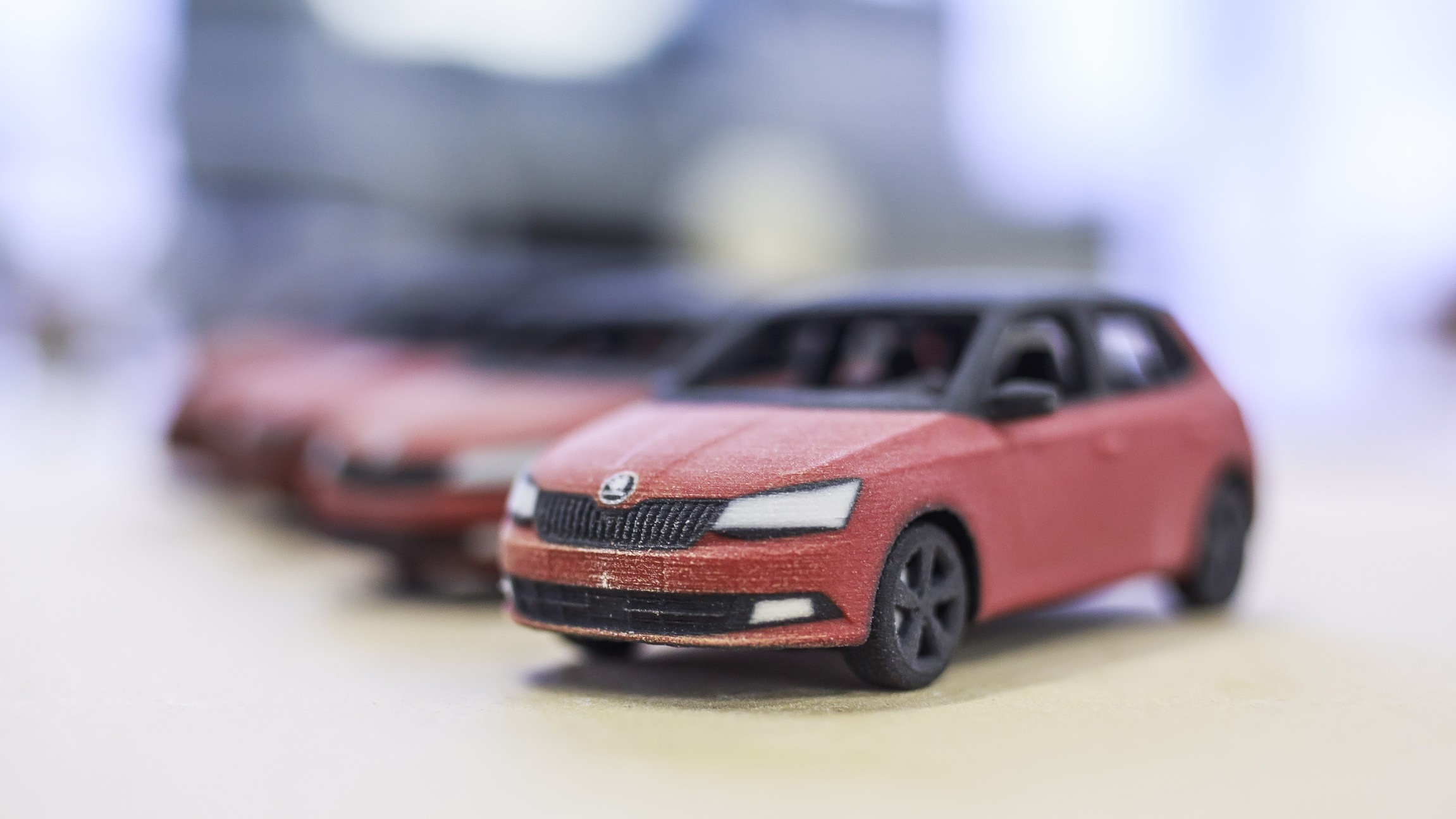 SKÔDA France 3D prints little Fabias! - Sculpteo Blog