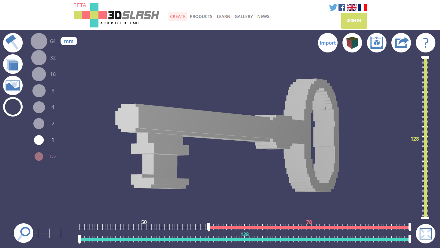 3D Slash I easiest 3D modeling software (CAD) for beginners!