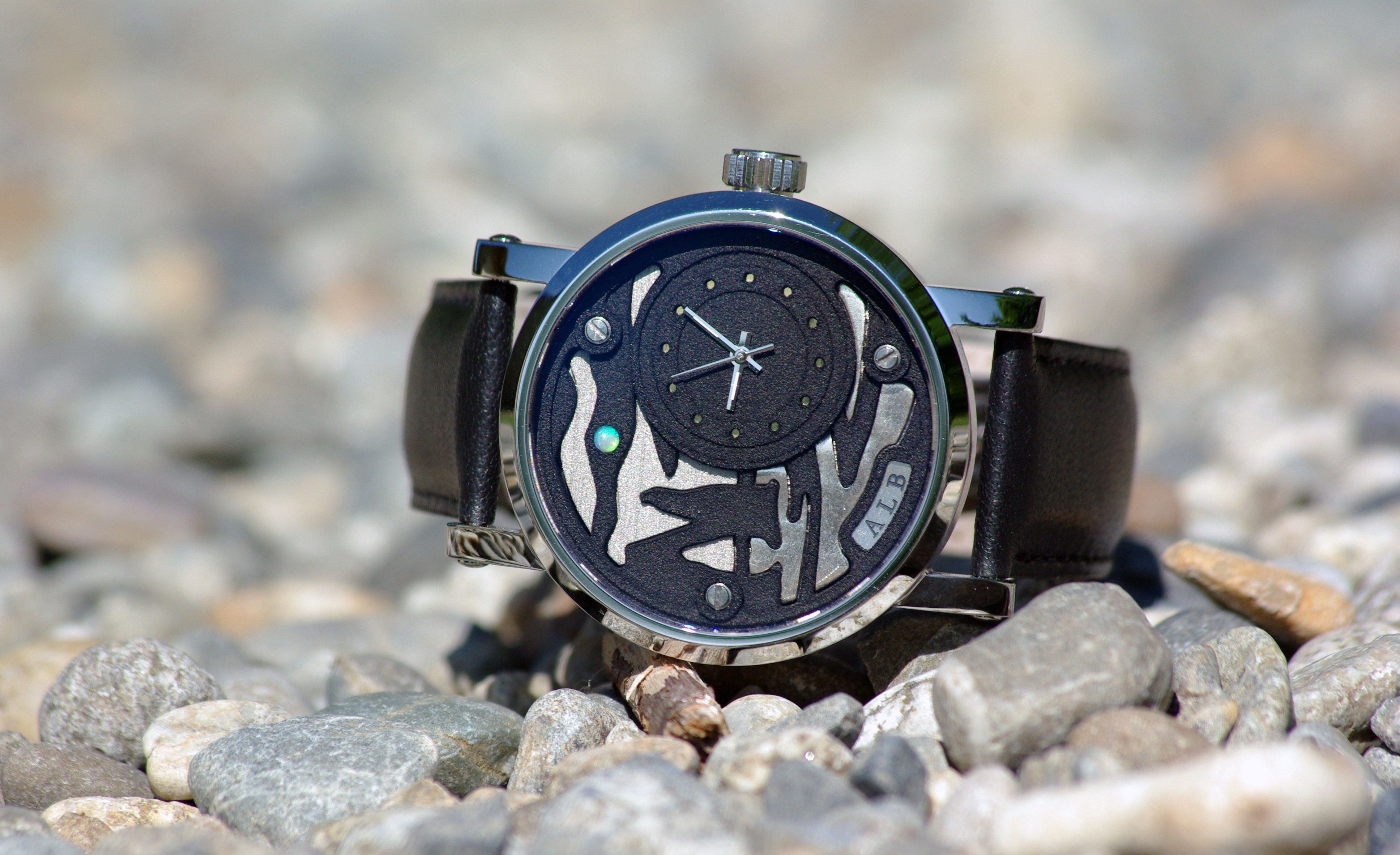 This watch is 3D printed