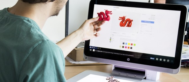Sculpteo & HP Sprout team up to make 3D Printing easier!