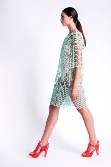 3D printed dress by Danit Peleg printed with FDM 3D printers