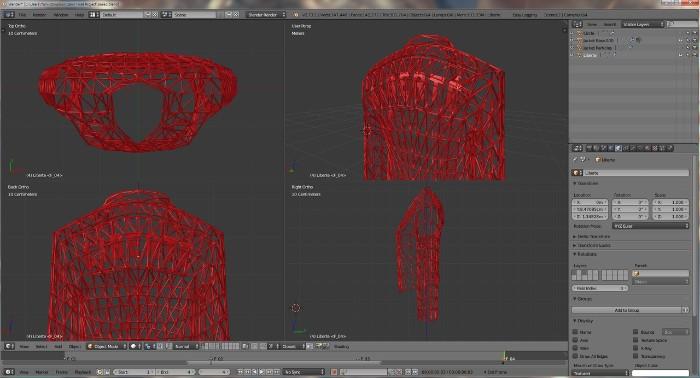 3D printed fashion: Danit Peleg, Interlaced & Electroloom