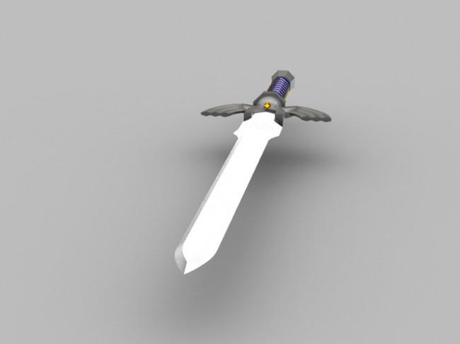 life size zelda master sword