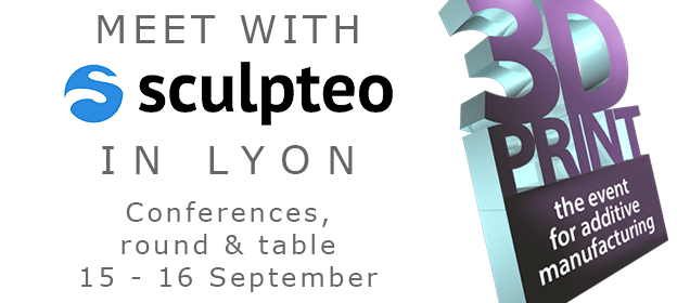 Sculpteo will be attending to the tradeshow 3D Print in Lyon