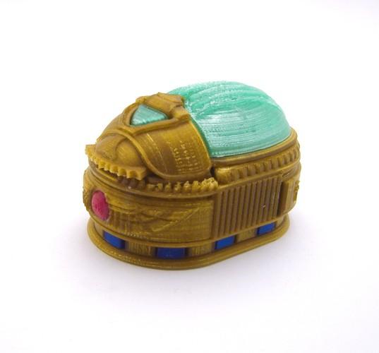 scarab lock box louise driggers pinshape