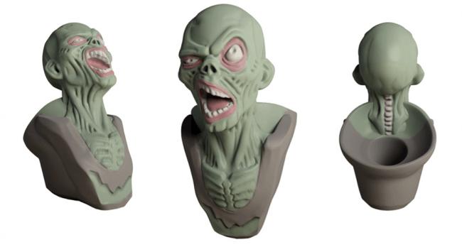 zombie wacom pen tanya wiesner pinshape