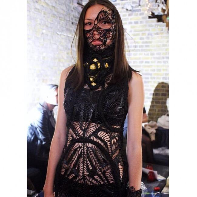3D printed dress by MAARTJE DIJKSTRA