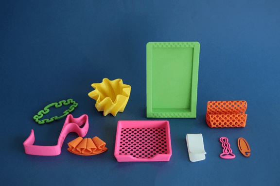 3D Printed products made by Staples
