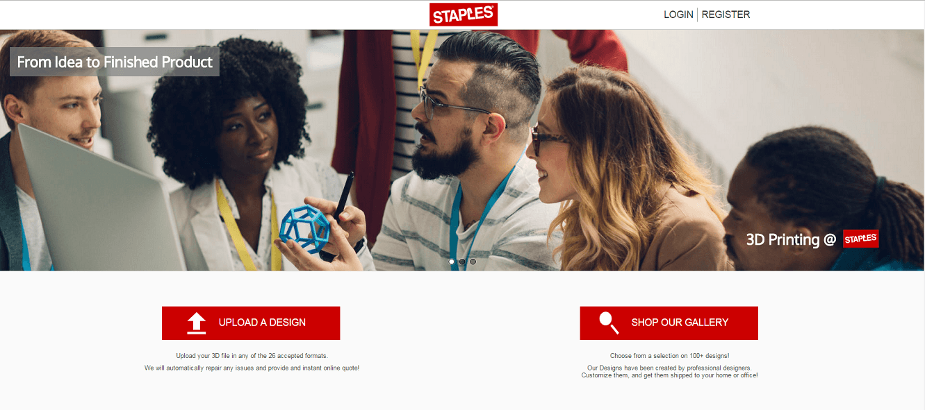 New Partnership between Staples and Sculpteo