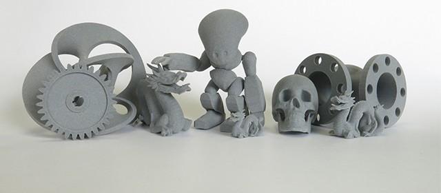 Lancement de notre matériau plastique gris pour l'impression 3D