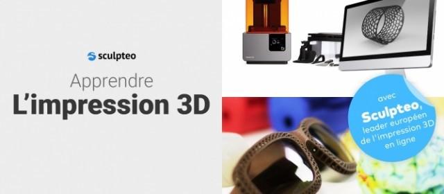 Formez-vous avec notre MOOC dédié à l'impression 3D !