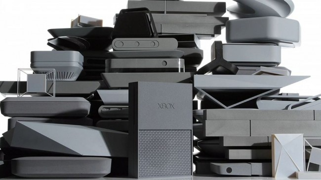 xbox prototypes pile of