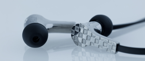 Titanium 3D printed earphones final product