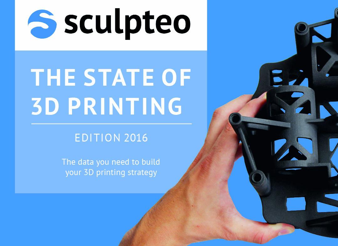 L'édition 2016 du baromètre de l'impression 3D, c'est parti !