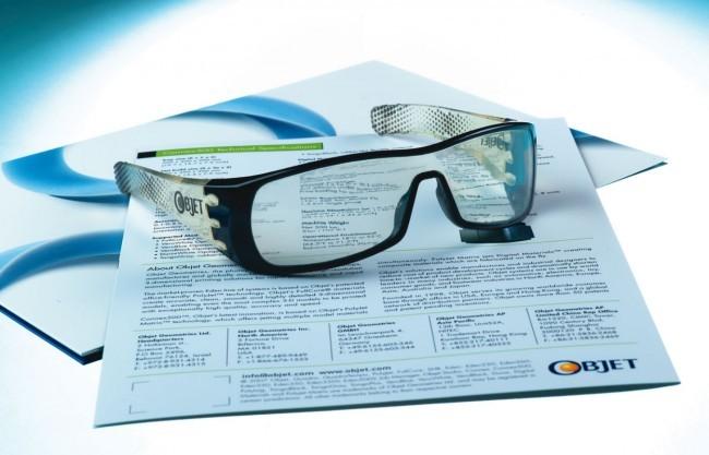 polyjet 3d printed glasses