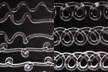3d printed wases and loops
