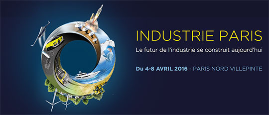 Rencontrez-nous au salon Industrie Paris !