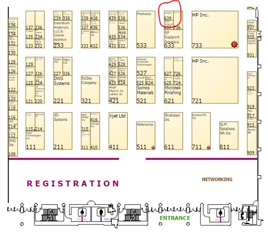 Booth number