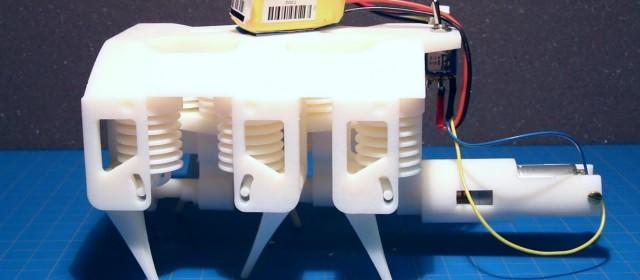 Le robot hydraulique imprimable en 3D du MIT