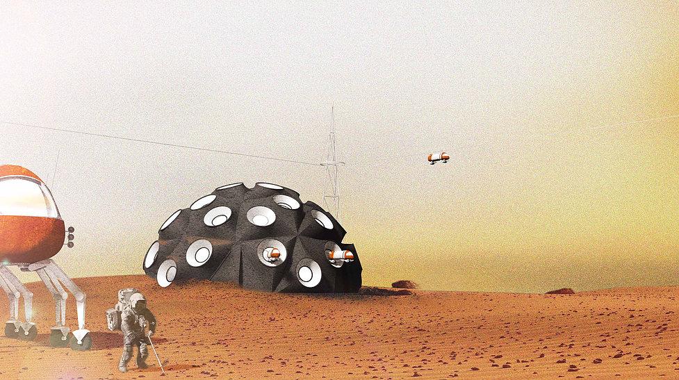 Dandelion, Gabriel Hallett. Image: Mars City Design