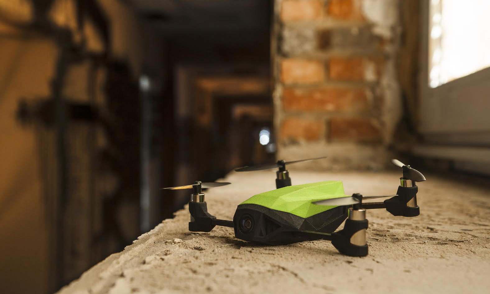 nanoracing 3D printed drone