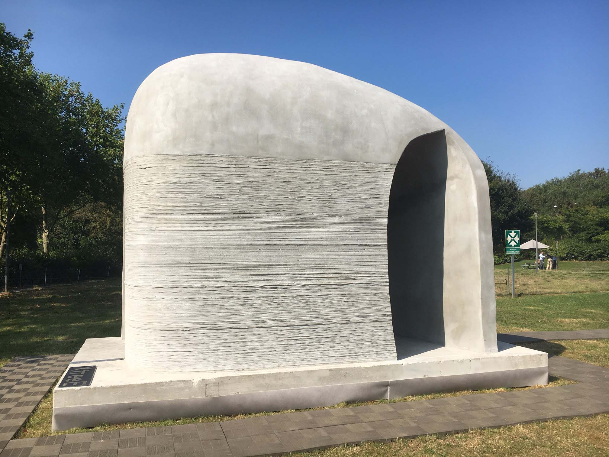 XtreeE 3D-Printed Pavilion