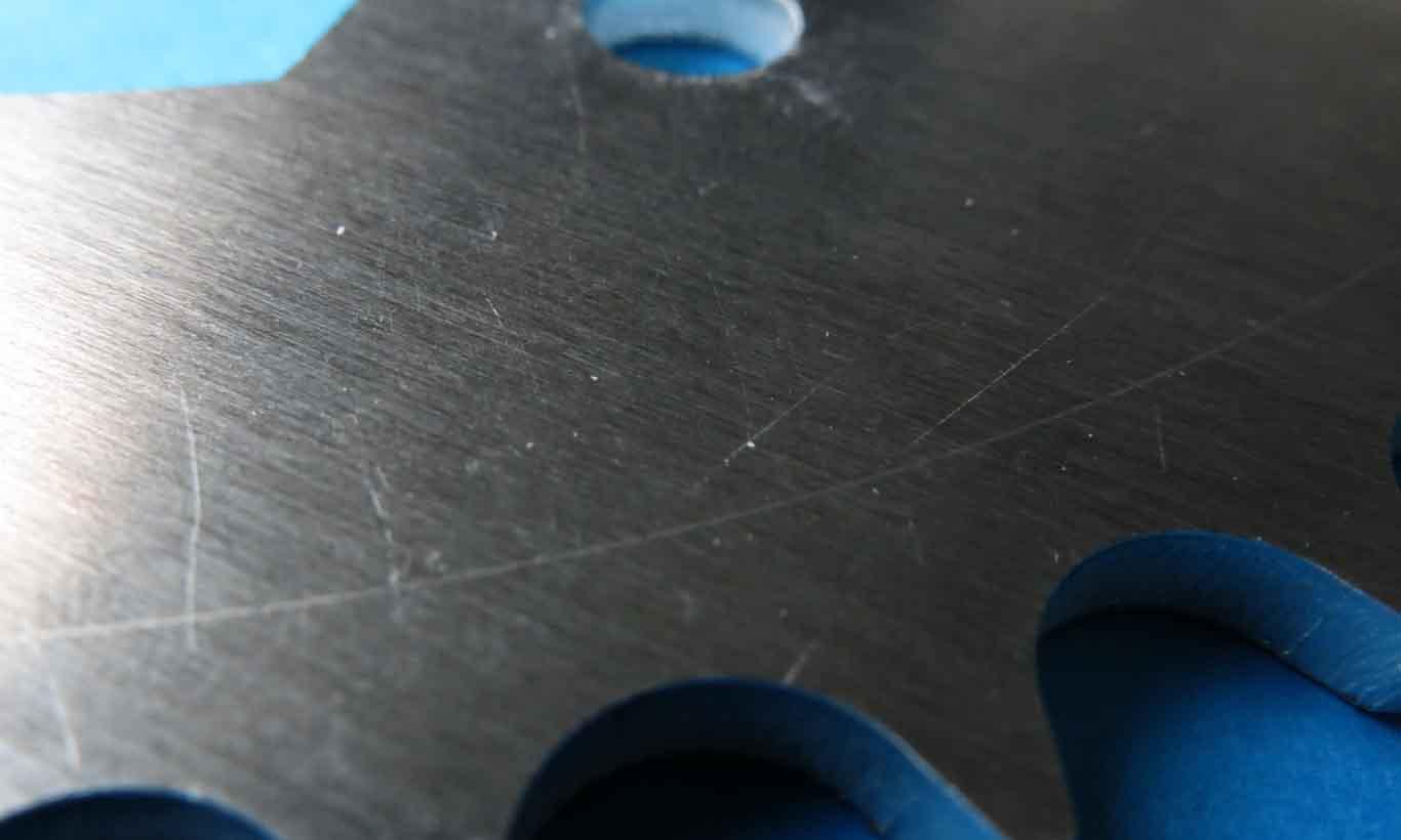 Aluminum marks