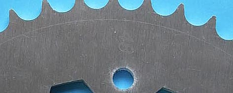 Aluminum engraved
